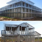 Light steel structures
